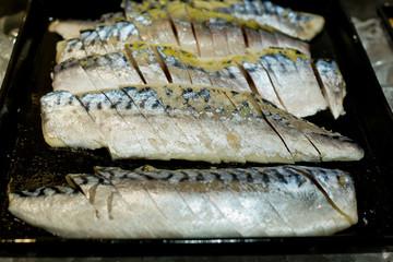 Sashimi buffet - Japanese sushi