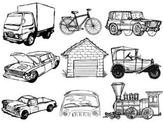 set of transportation