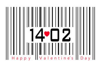 Happy Valentine`s Day Katrte