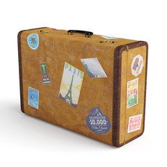 Alter Koffer aus Leder