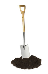 Spade and soil