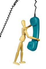 Telefonieren, h.