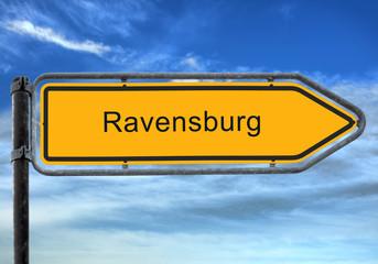 Strassenschild 26 - Ravensburg