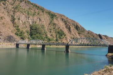 Steel Bridge near the Mountain