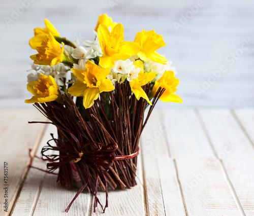 Fotobehang Narcis Daffodils
