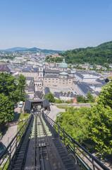 Festungsbahn at Salzburg, Austria