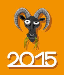 New 2015 year of goat.