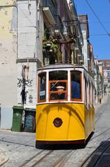 ascensor da Bica Standseilbahn in Lissabon