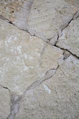 Stone wall closeup, Majorca, Balearic islands, Spain.