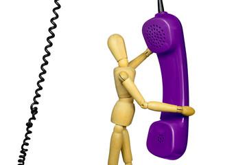 Telefonieren, q.