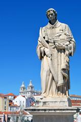 Statue Heinrich des Seefahrers in Lissabon