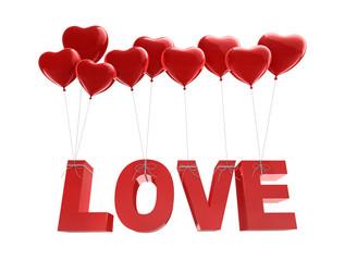 LOVE - Ballons