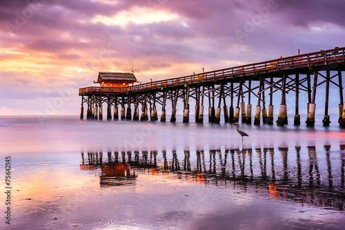 Cocoa Beach, Florida, USA at the Pier - 75642145