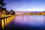 West Palm Beach, Florida on the Intracoastal Waterway - Fine Art prints