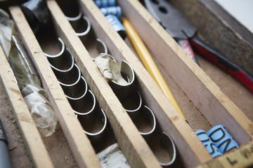 Bird ringing tools.
