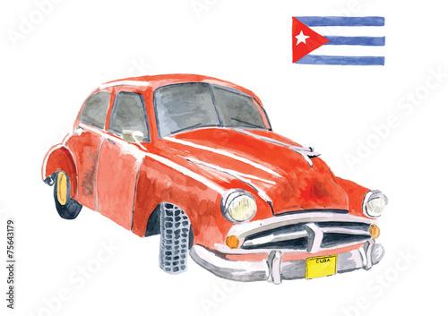 Cuba car - 75643179
