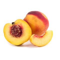 Peach on the table
