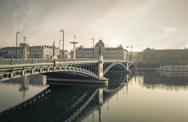 A lyon bridge