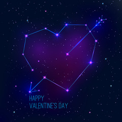 Constellation heart