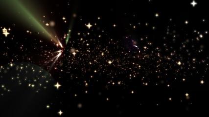 magic stars fly 4k
