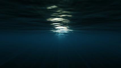 underwater light sun 4k