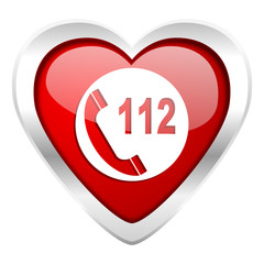 emergency call valentine icon 112 call sign