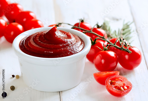 Leinwandbild Motiv Tomato sauce