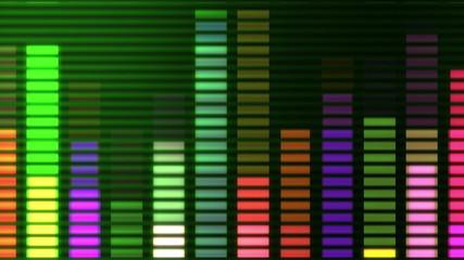 graphic music equaliser 4k