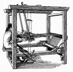 English weaver ca. 1730