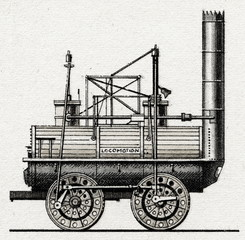 Locomotion No. 1 by George and Robert Stephenson's