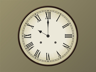 Horloge 10h