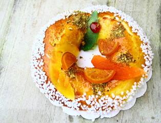 galette des rois;aux fruits confits