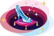Cinderella's slipper - 75652538