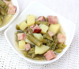 Grüne Bohnen Eintopf