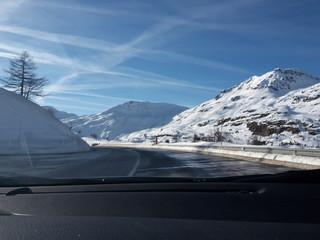 In auto sui monti
