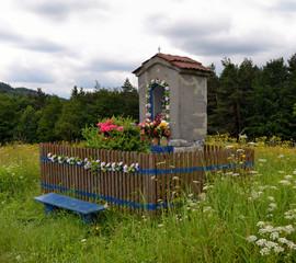 Kapliczka przydrożna w Zawoi
