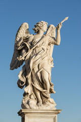 Roma - Statue sul ponte