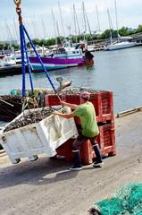 manutentionnaire sur le port