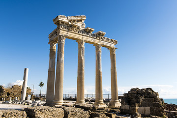 Side, Temple of Apollo, Turkey