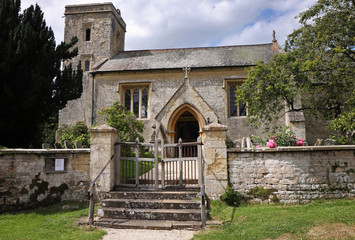 An English Village Church and Tower