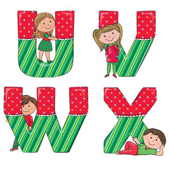 Alphabet kids VWUX