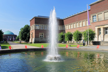 Fontäne vor dem Kunstpalast - Düsseldorf