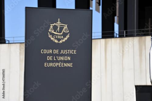 Europäischer Gerichtshof, EuGH, Justiz, EU, Kirchberg, Luxemburg - 75661165