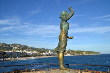 View of Lloret de Mar, Spain