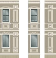 Building facade parts