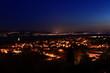 Leinwanddruck Bild - Abendstimmung am Bodensee