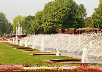 Wasserspiel im Nordpark - Düsseldorf