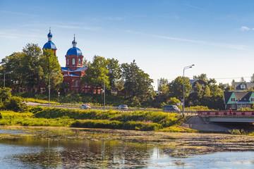 Rozhdestva Bogoroditsy Church.Rozhdestveno, Russia