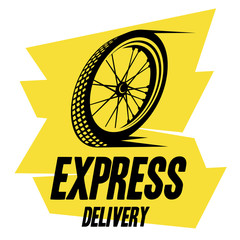 bicycle wheel express delivery