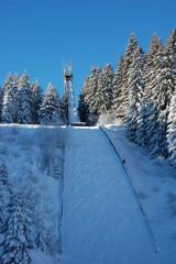 Sprungschanze Skispringen